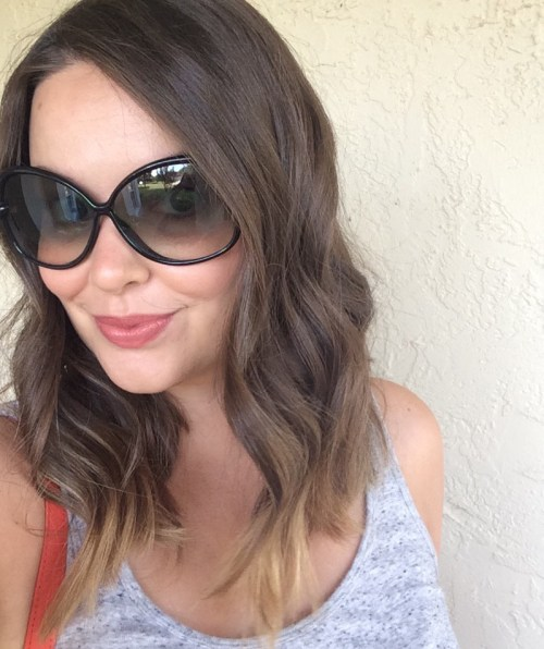 A Pretty Penny Tips for Tousled Tresses Textured Lob