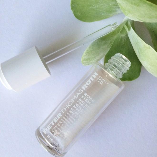 Keira Lennox Beauty Empties   Peter Thomas Roth Rose Stem Cell Bio-Repair Precious Oil SPF 15