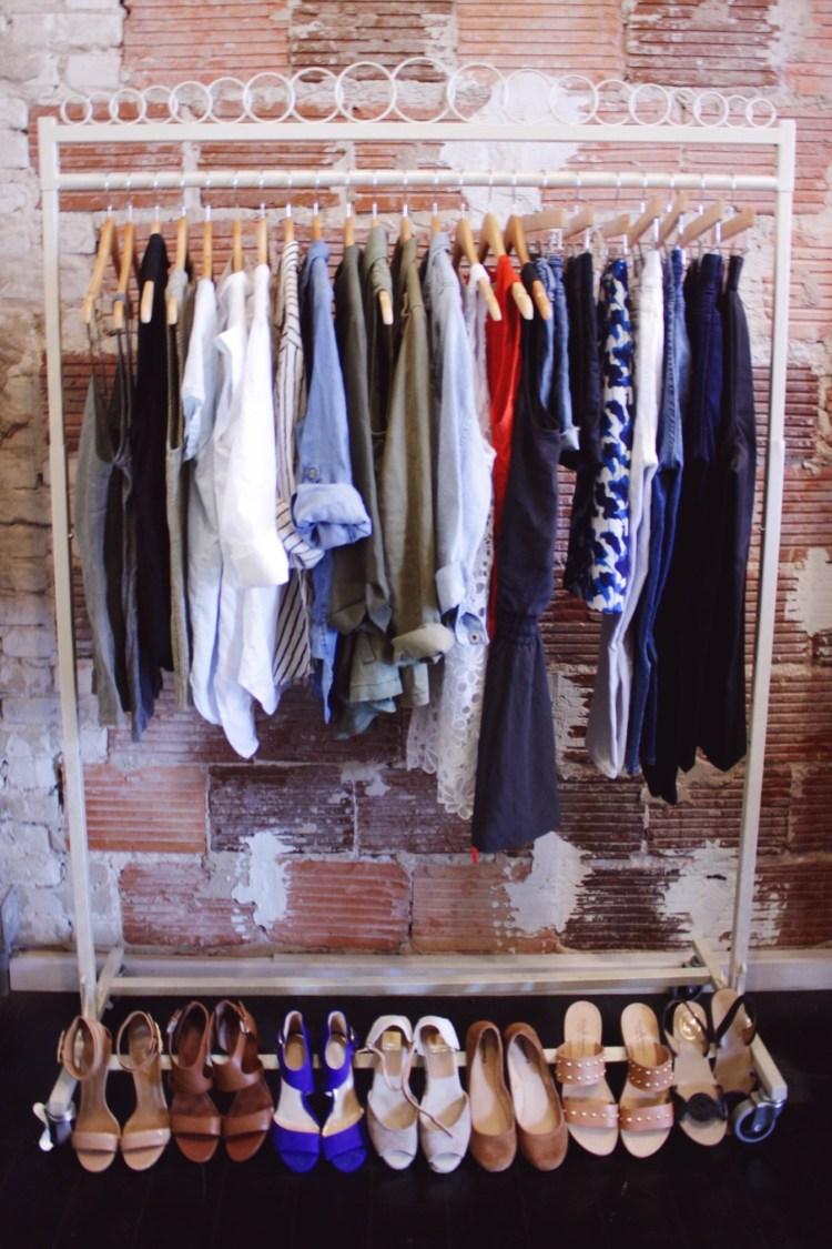 Casual Summer Capsule Wardrobe 2016