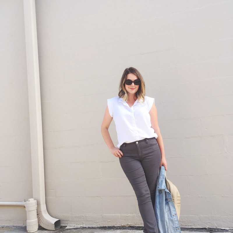 Fall 2016 LOFT Sateen Five Pocket Leggings, OOTD, Budget Style, Women's Fashion, keiralennox.com