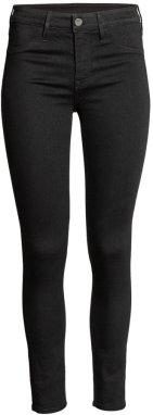 Black Ankle Skinny Jeans