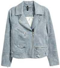 H&M Faux Suede Biker Jacket • H&M • $69.99