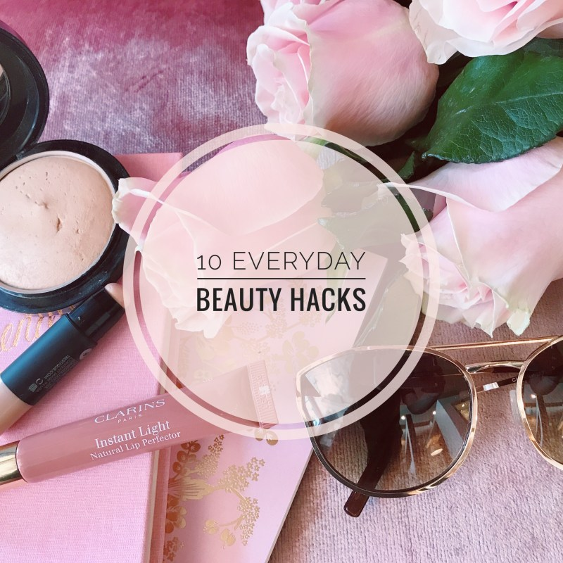 10 Everyday Beauty Cheats and Makeup Tips