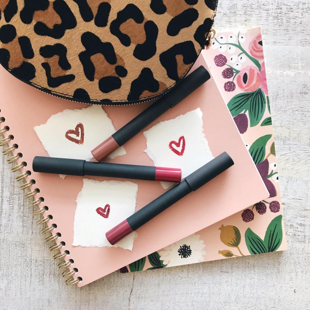Bite Beauty High Pigment Lip Pencils, Lipstick Flat Lay, Green Beauty Products, Green Makeup