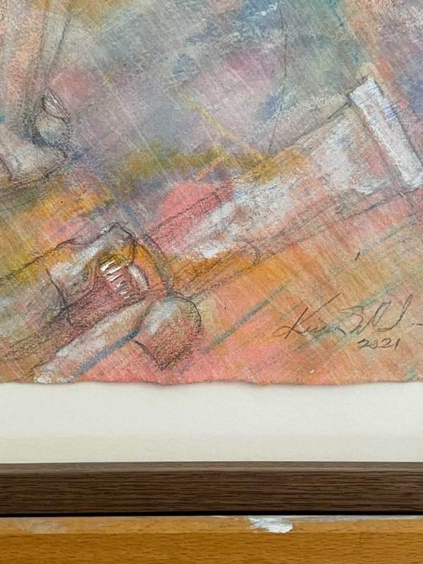 Conversation Pieces, the paint tube detail