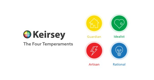 Image result for keirsey temperaments