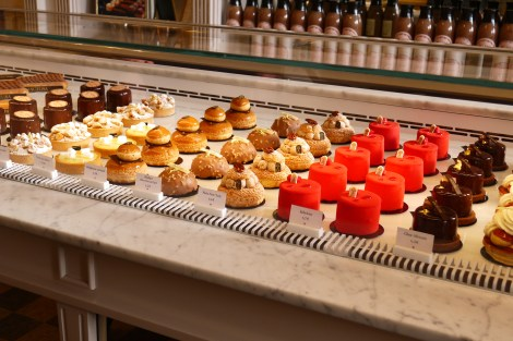 Choice of patisserie at Angelina's