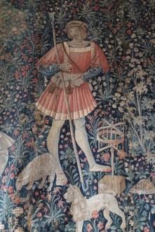 Man winding wool