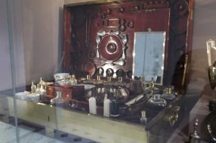 Mahogany travelling case