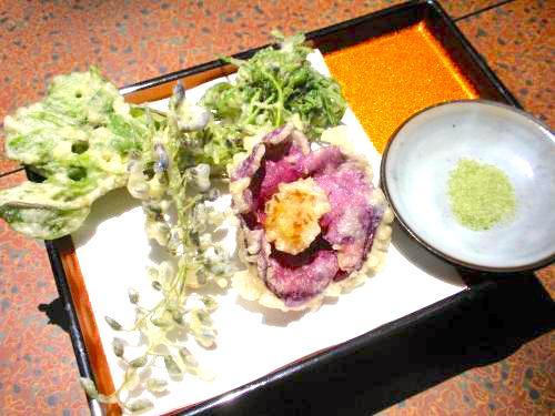 山菜定食(春限定)