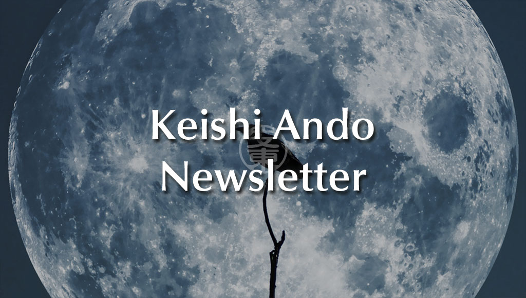 Keishi Ando Newsletter