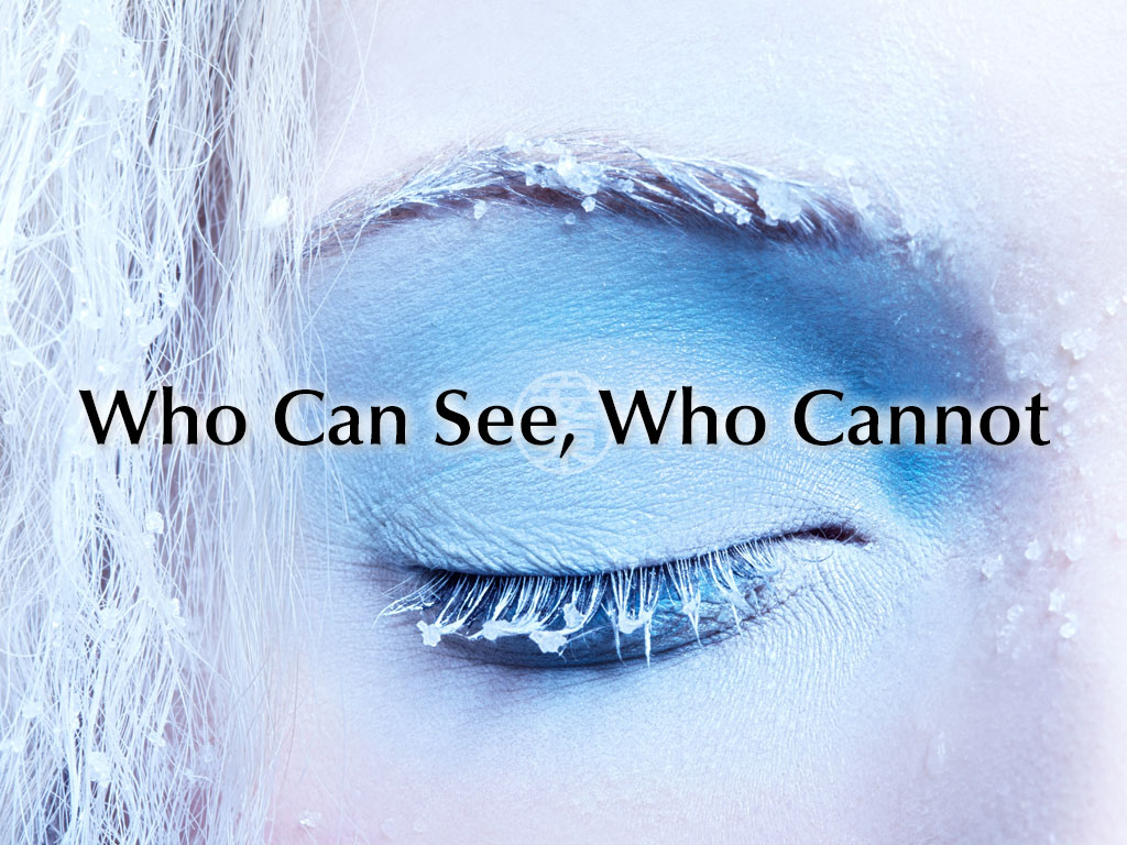 Who Can See, Who Cannot - A Poem