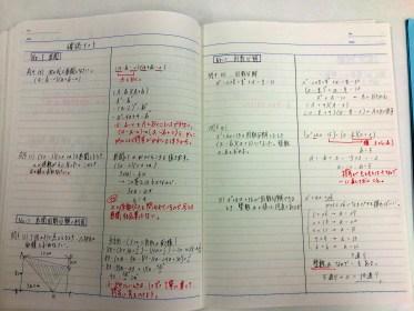 勉強できる子の定期テストノート大公開!