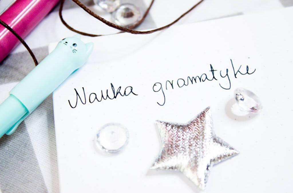 nauka gramatyki