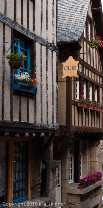 Shops in Le Vieux Dinan