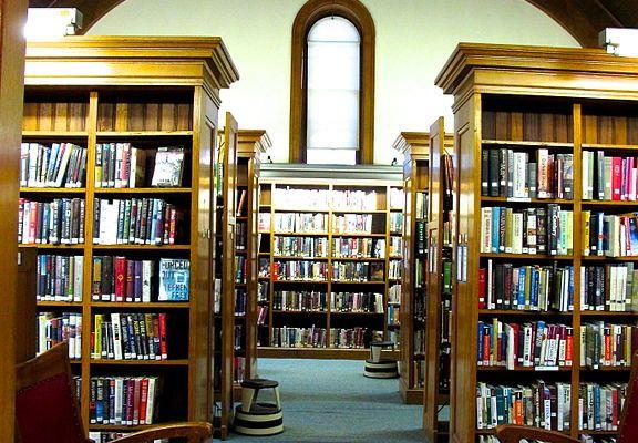 Bancroft Library Stacks, UC Berkeley