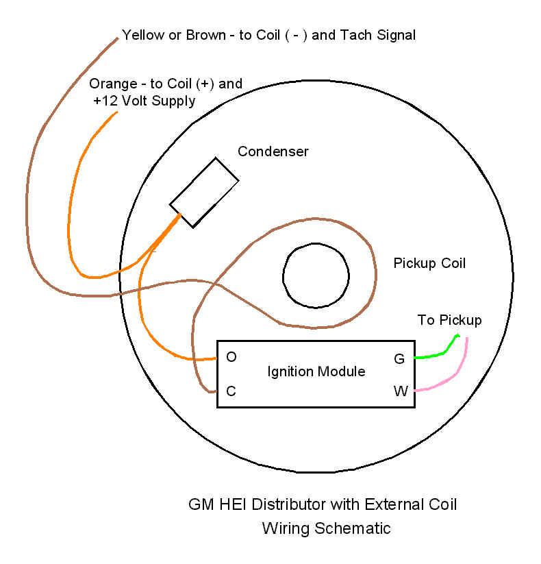 gm hei ignition wiring diagram dolgular com Mopar Hei Wiring-Diagram  HEI Distributor Wiring Chevy Distributor Wiring chevy 350 hei wiring diagram