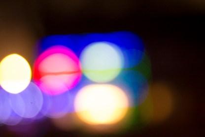 Bokeh Coloured Lights 4
