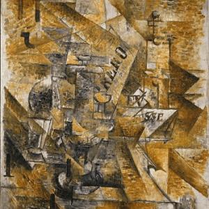 George Braque 'Pair of Banderillas' 1911