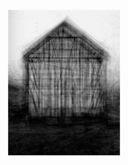 Idris Khan - Gable Sided Houses