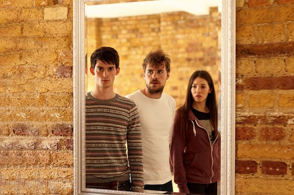 Joshua Dickinson, Nate Fallows, and Jemma Dallender in The Mirror