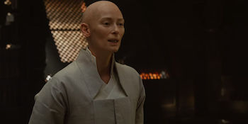 Tilda Swinton as the Ancient One