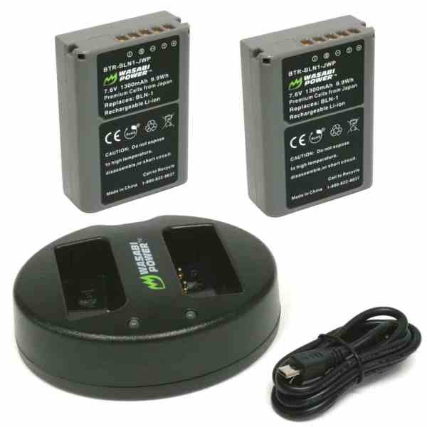 Wasabi Dual Battery Charger