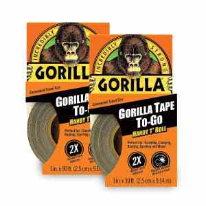 "Gorilla Tape To-Go Handy 1"" Roll"
