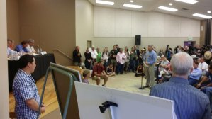 Presenting in Bluff, UT to Sec. Jewell