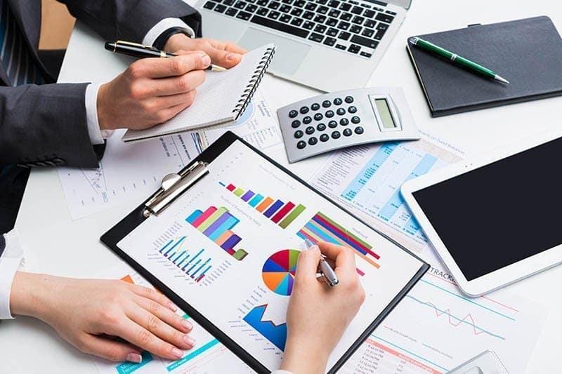 Accounting, budget, price.