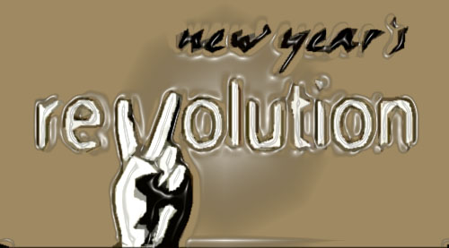 Image result for new year's revolution