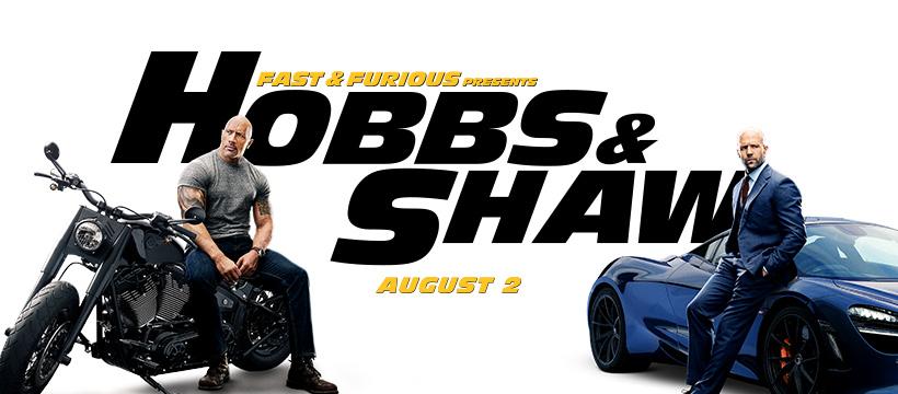 HOBBS & SHAW - Banner