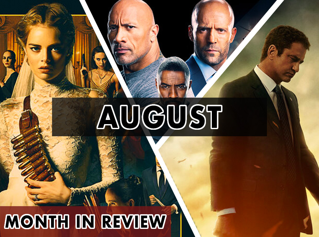 Month in Review (August 2019)