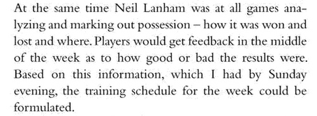 A quote from the Crazy Gang biography