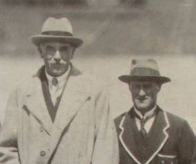 Tedd Higgs the coach with the Governor of South Australia
