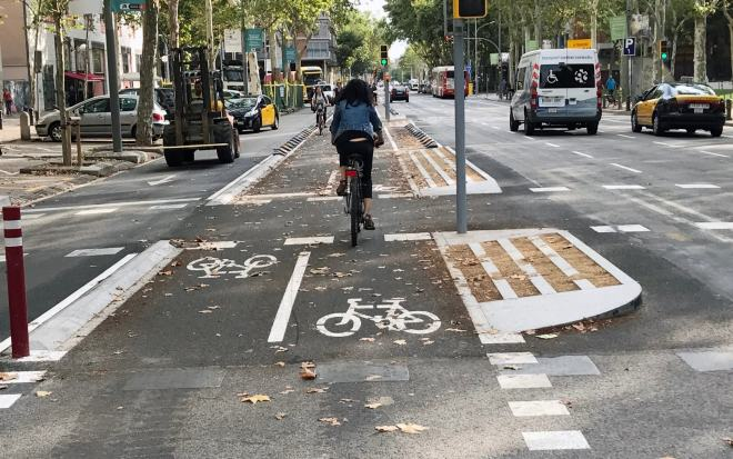Microcontent: mode share and cycling infrastructure – Clyde