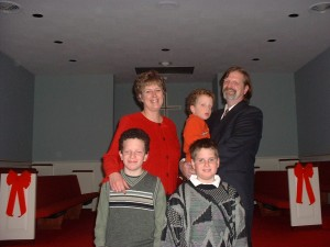 The McCallum family from Cleveland. 2001