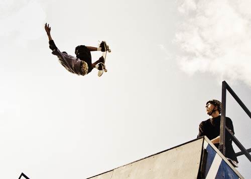 Flyingskateboard