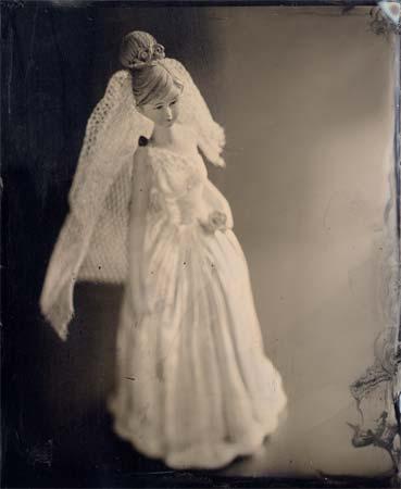 collodion bridal still life