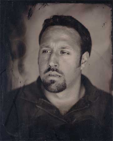 collodion portrait of Tommy
