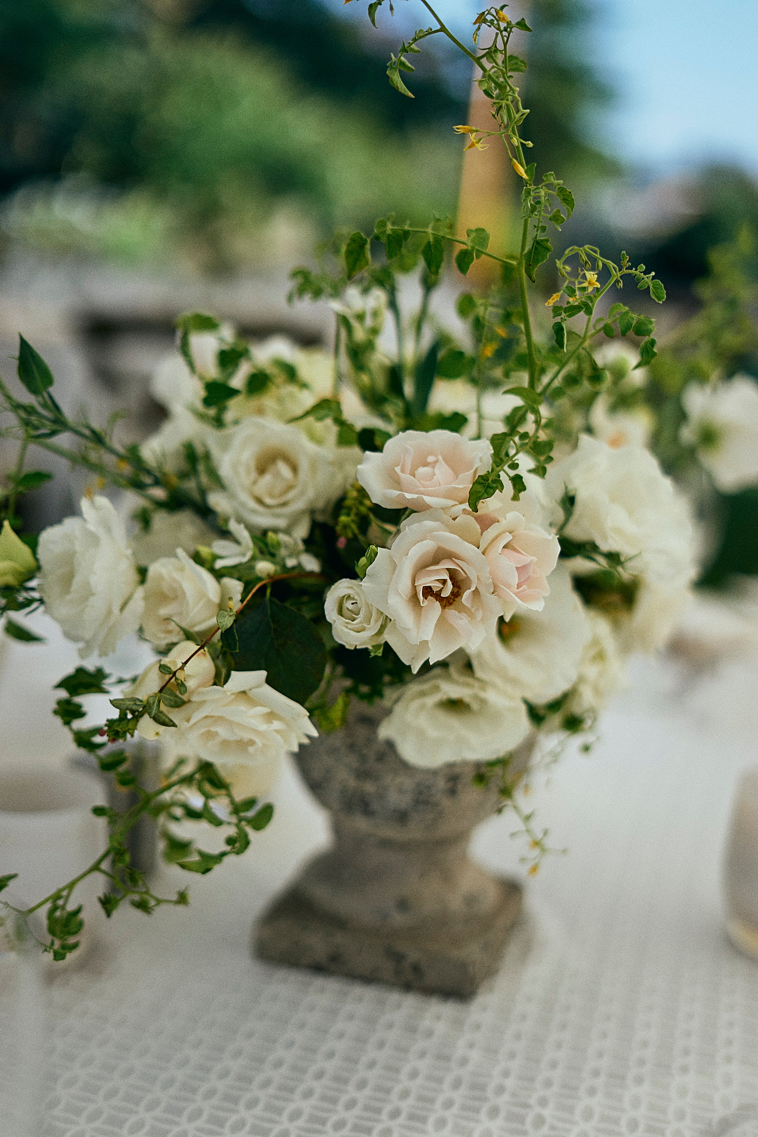 wedding flowers pronghorn golf course