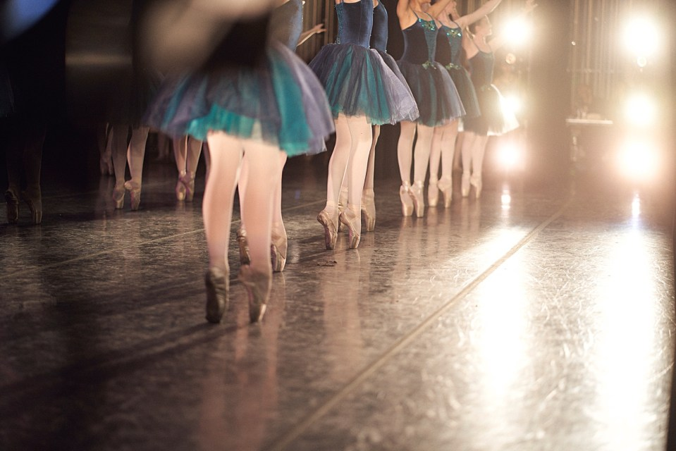 ballerina at the orpheum phoenix