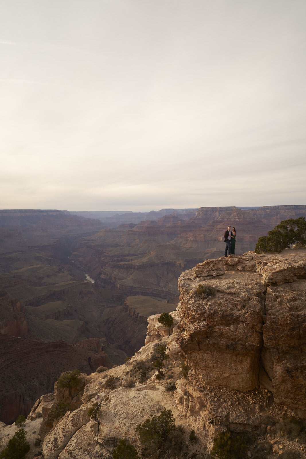 Grand Canyon Engagement Session