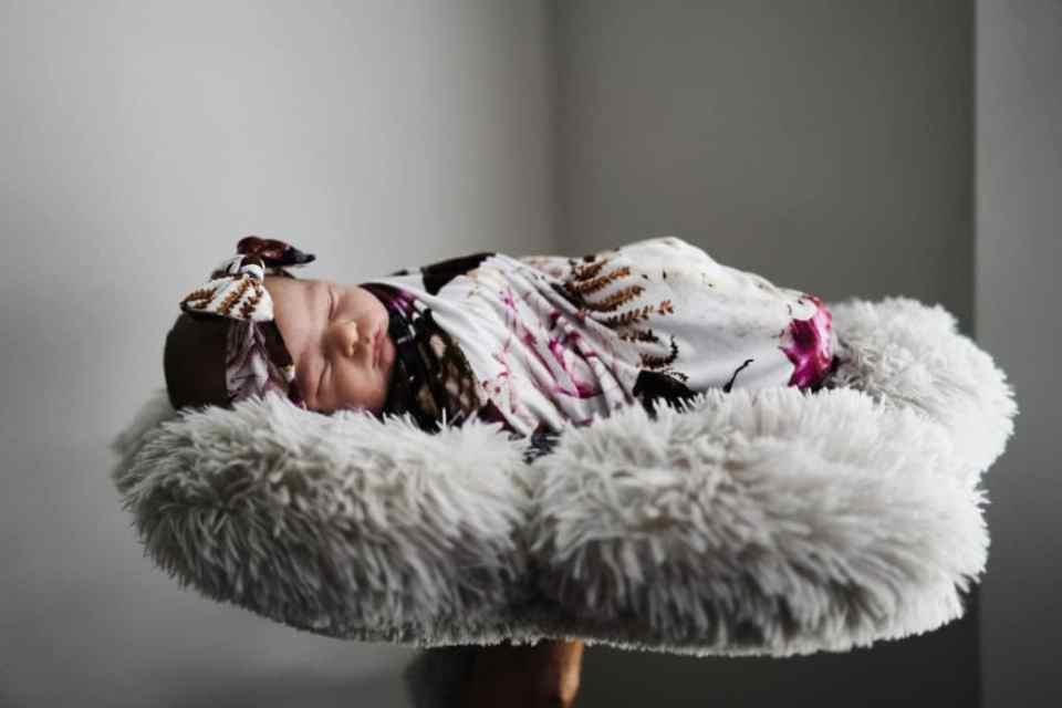 documentary style newborn photography