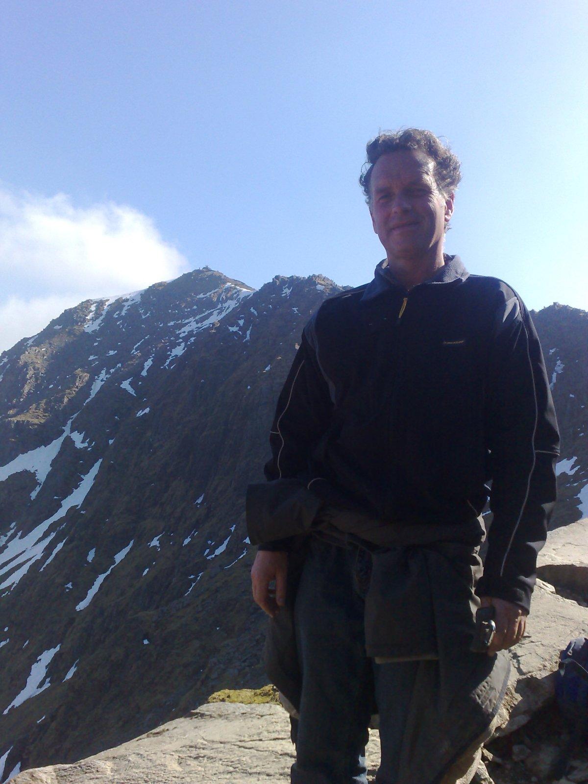 Me on a mountain