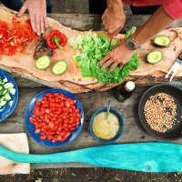 Food is a form of art... da Vinci would be proud!
