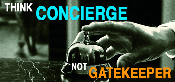 Cold Calling—Shift from Gatekeeper to Concierge