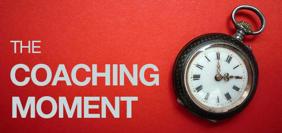 How Great Managers Recognize The Coaching Moment