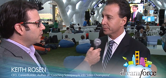 Live Video Interview With Keith Rosen at Dreamforce 2013