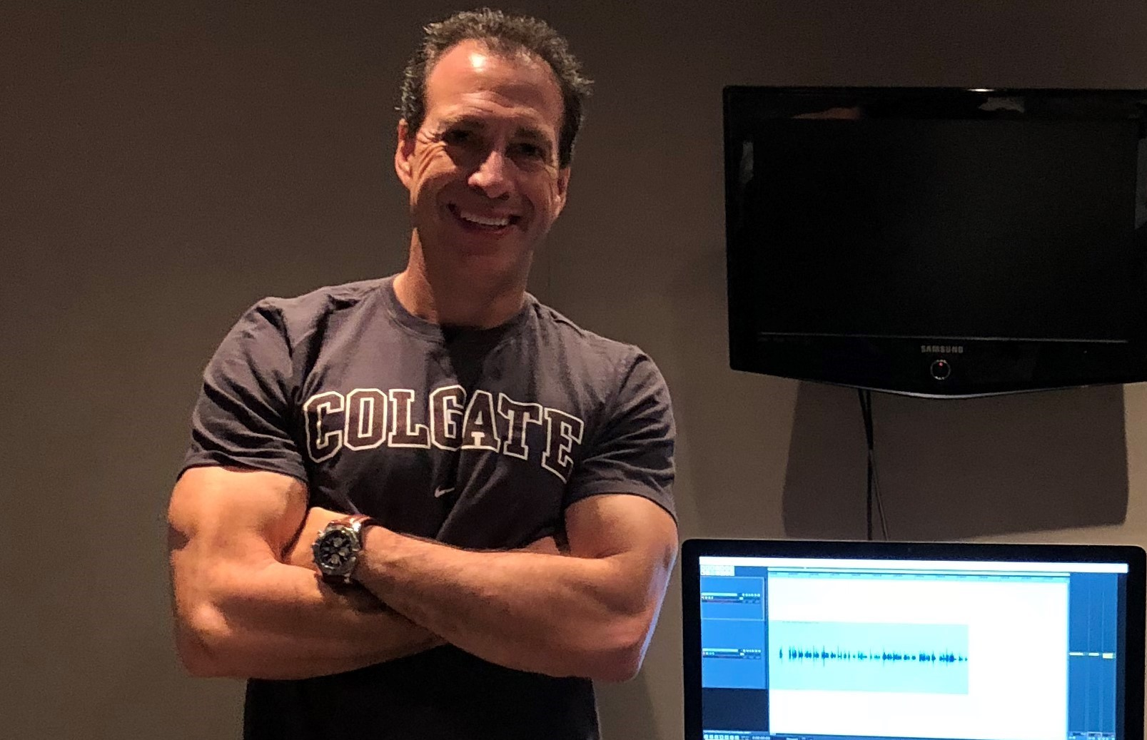 VIDEO: At Audible Studio Recording My Sales Leadership Audio book -Chapter One Summary